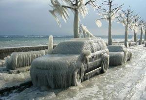 Как правильно разморозить автомобиль зимой